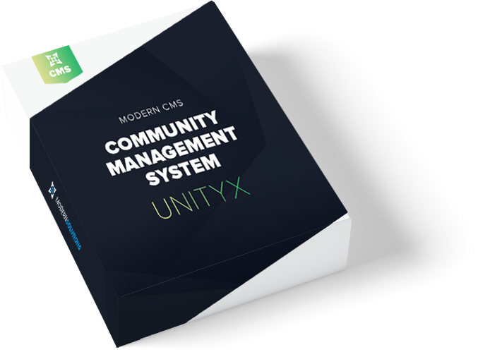 community management system icon
